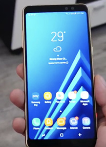 Galaxy A8 (2018) Duos 32GB with 4GB Ram